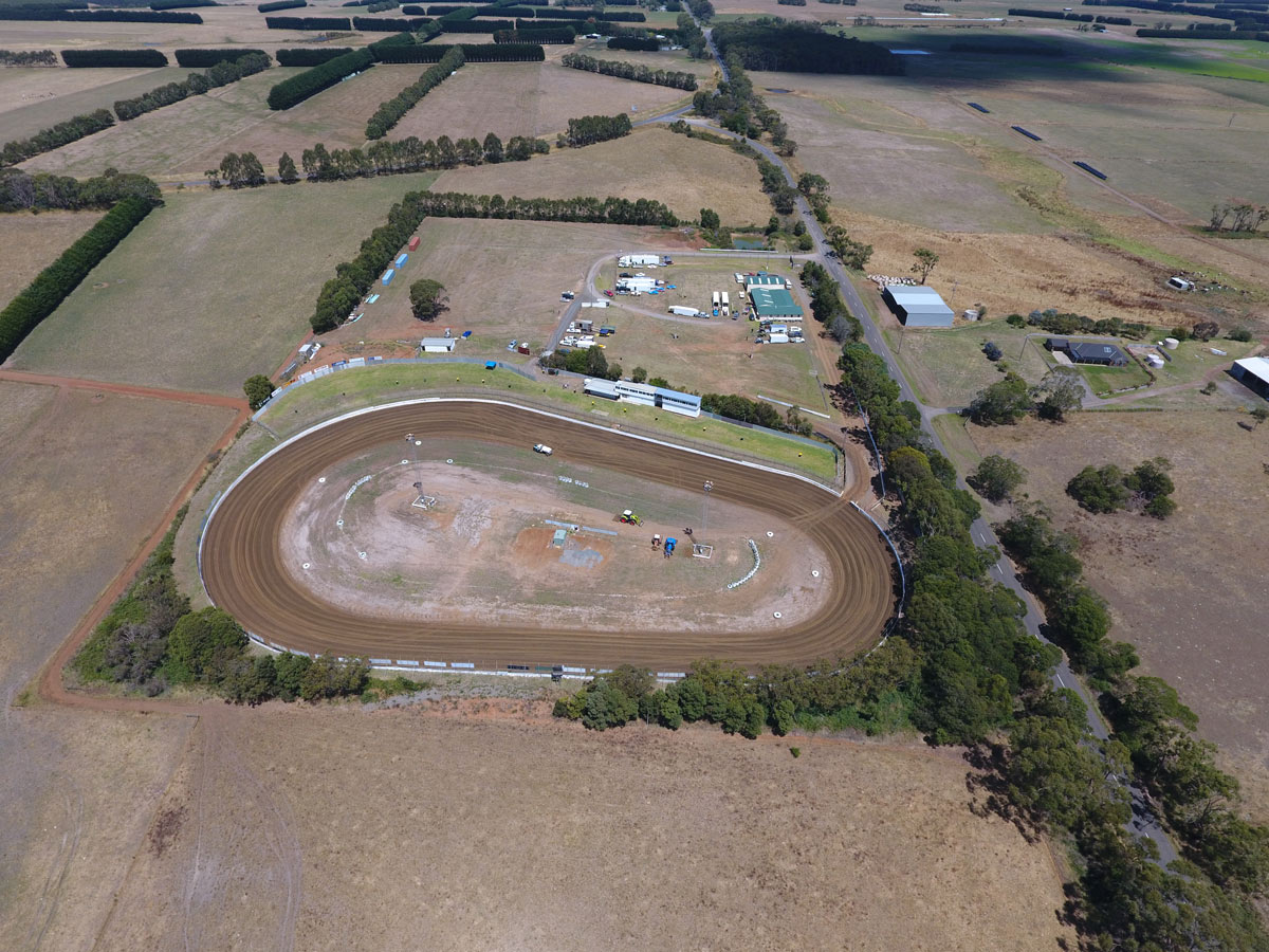Simpson Speedway Race Track