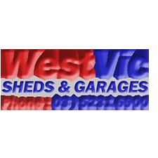 WestVic Sheds & Garages Logo
